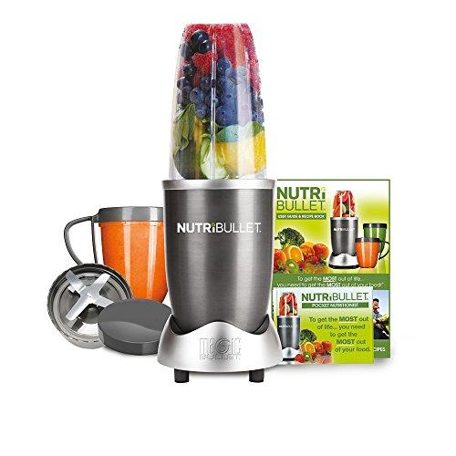 NUTRiBULLET 600 Series – Nutrient Extractor High Speed Blender – 600W 8 Piece Set – Graphite