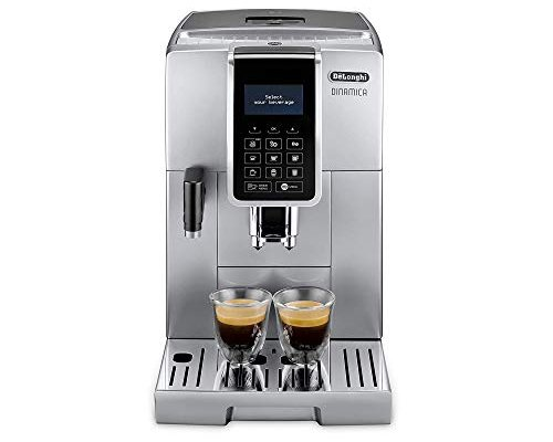 Delonghi ECAM 350.75.s Pod Coffee Machine 1.8L-Coffee (Freestanding, fully automatic, Pod Coffee Machine, Coffee Beans, Ground Coffee, Silver, Sensor)