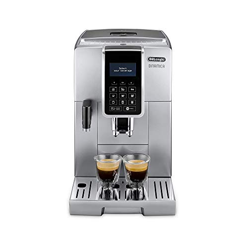 Delonghi ECAM 350.75.s Pod Coffee Machine 1.8L - Coffee (Freestanding, fully automatic, Pod Coffee Machine, Coffee Beans, Ground Coffee, Silver, Sensor)