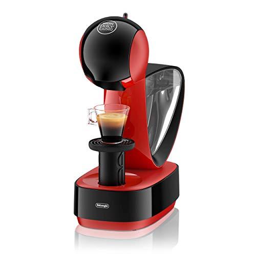 DeLonghi Nescafé Dolce Gusto Infinissima Pod Capsule Coffee Machine, Espresso, Cappuccino and more,1.2 Liters, EDG260.R, Red & Black
