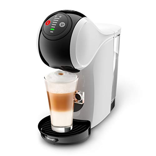 De'Longhi Dolce Gusto EDG225.W Genio S Pod Coffee Machine, compact design, adjustable drink size, 0,8L removable water tank