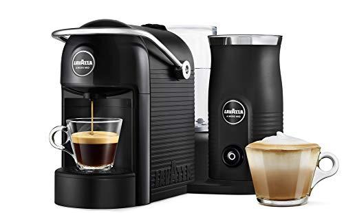 Lavazza A Modo Mio Jolie & Milk Coffee Machine, with Milk Frother, Black