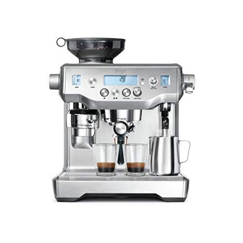 Sage BES980BSS the Oracle Espresso Semi-Automatic Espresso Machine – Silver