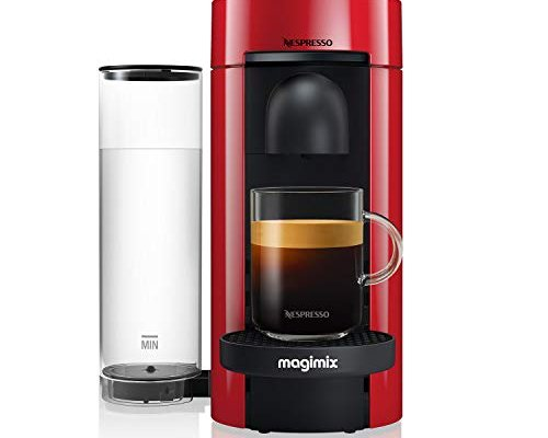 Nespresso 11389 Vertuo Plus Special Edition, By Magimix, Coffee Capsule Machine – Claim 100 Coffee Capsules Plus 2 Months' (1st & 6th) Coffee Subscription For Free When You Buy This Product