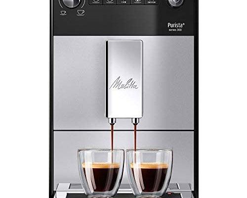 Melitta Automatic Espresso Machine, Purista Model, F230-101, Silver, 6766667