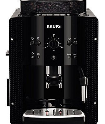 Krups Espresseria EA8108 Automatic Bean to Cup Coffee Machine, Black