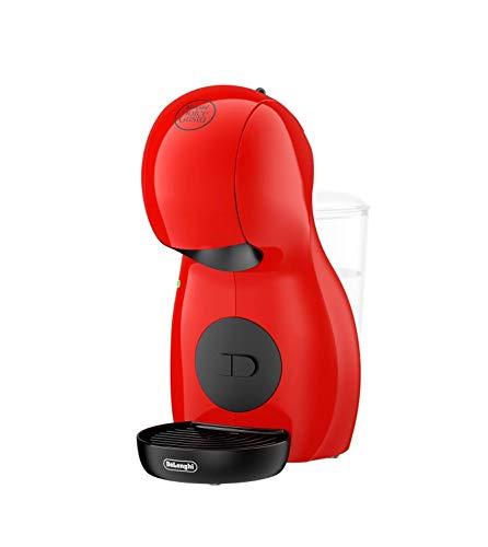 DeLonghi Nescafé Dolce Gusto Piccolo XS Pod Capsule Coffee Machine, Espresso, Cappuccino and more, EDG210.R, Red and Black EDG 210.R
