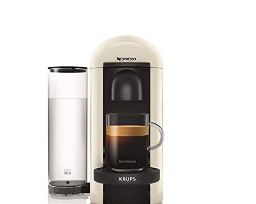 Nespresso Vertuo Plus XN903140 Coffee Machine by Krups, White